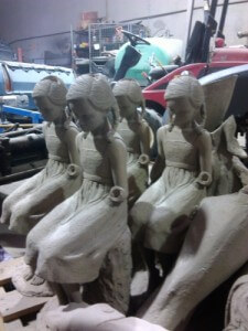 Abrasive Blasting - Brisbane - Statues and Bronze Castings