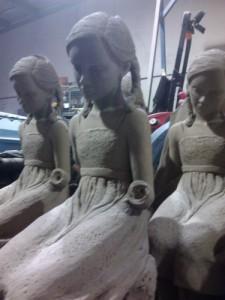 Abrasive Blasting - Brisbane - Statues and Bronze Castings