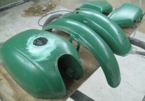 Abrasive Blasting - Brisbane - Motor Cycles